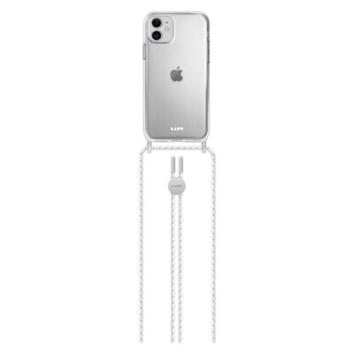 Laut Crystal X Necklace for iPhone 11 ultra clear