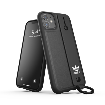 adidas OR Hand Strap Case SS20/SS21 for iPhone 11 black