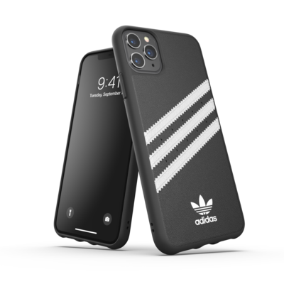adidas OR Moulded Case PU FW19/SS21 for iPhone 11 Pro Max black/white