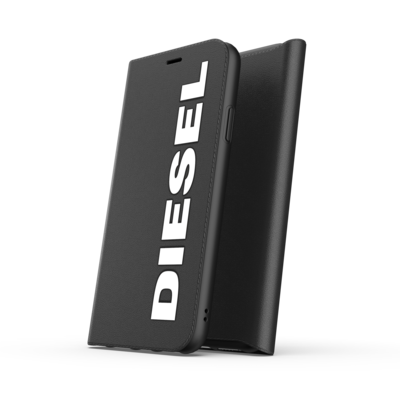 Diesel Booklet Case Core FW20/SS21 for iPhone 11 Pro Max black/white