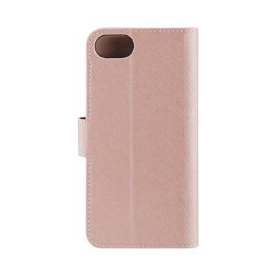 XQISIT Wallet Case Viskan for iPhone 6/6s/7/8/SE rose gold col.