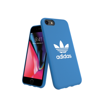 adidas OR Moulded Case BASIC FW18/SS21 for IPhone 6/6s/7/8/SE 2G bluebird/white