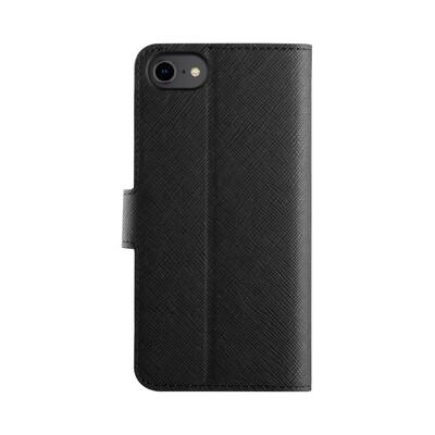 XQISIT Wallet Case Viskan for iPhone 6/6s/7/8/SE black