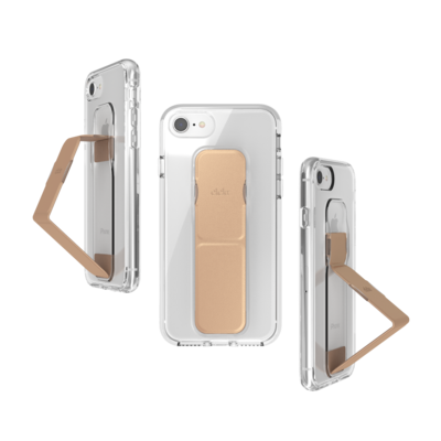 CLCKR CLEAR GRIPCASE FOUNDATION for IPhone 6/6s/7/8/SE 2G clear/rose gold colored