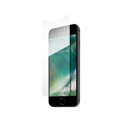 XQISIT Tough Glass CF for iPhone 6/6s/7/8/9 clear