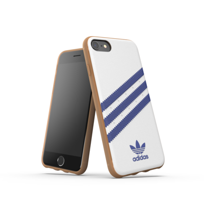 adidas OR Moulded case PU SS19 for IPhone 6/6s/7/8/SE 2G white/collegiate navy