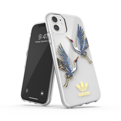 adidas OR Clear Case CNY SS20 for iPhone 11 collegiate royal/gold met