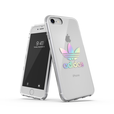 adidas OR clear ENTRY FW19 for IPhone 6/6s/7/8/SE 2G holographic