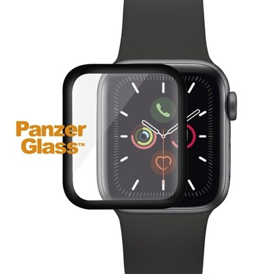 PanzerGlass Screen Protector full silicone for Apple Watch Series 4/5/6 40mm black