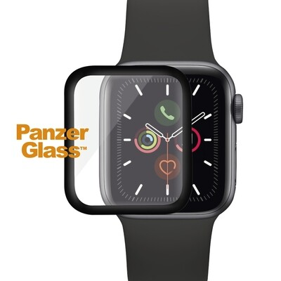 PanzerGlass Screen Protector full silicone for Apple Watch Series 4/5/6 44mm black