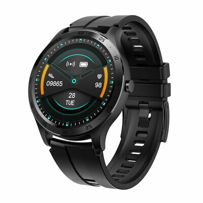 XQISIT Premium Acrive Watch Pro black