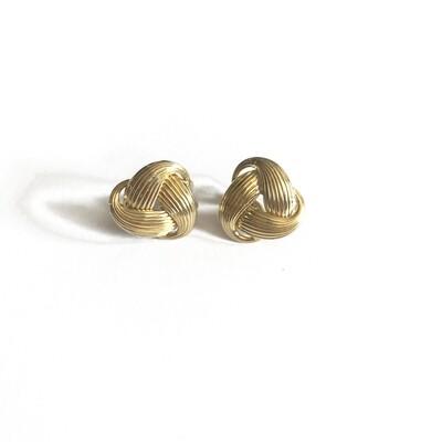 Circa 1960 Gold Earrings