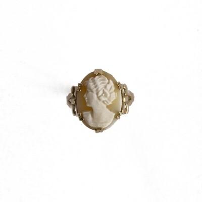Circa 1900 Cameo Ring
