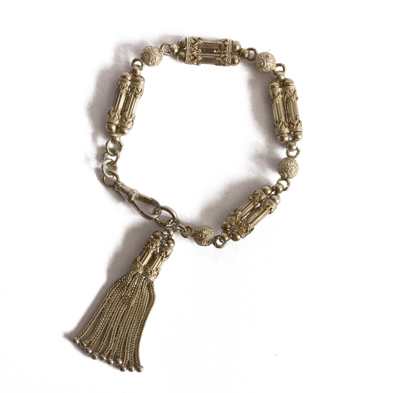 Circa 1930 Silver Bracelet
