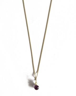Circa 1920 Gold Amethyst Pearl