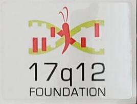 17q12 Foundation Decal