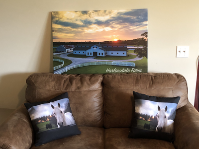 Harlinsdale Farm Barn Canvas Print
