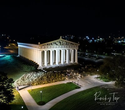 Nashville Pathenon at Night