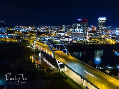 Nashville Nighttime Bridge