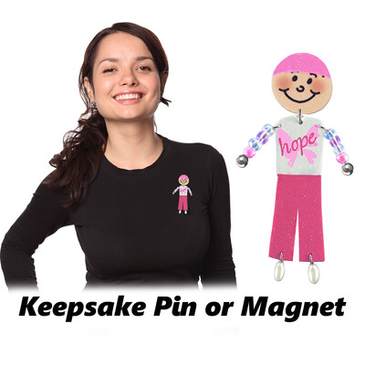 Cancer Awareness - Pin or Magnet