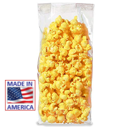 "2 cup Popcorn Packaging Bag  3"" x 2"" x 9"" 1,000 Bags"