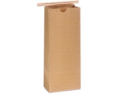 100 Paper Lined 1/2 lb Coffee Bags 3-3/8x2.52x7.75