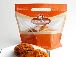 #READYFresh™ Grab-N-Go Pouch - 4 Piece Chicken