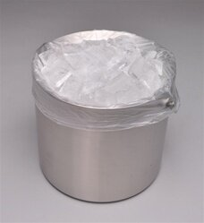 8 X 3 X 15 0.6 mils TUF-R ® Std Linear Low Density Gusset Bag/ Ice Bucket Liner