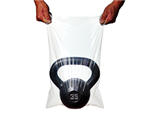 16 X 16 2.75 mil TUF-R® Extra Heavy Duty Linear Low Density Flat Bag 1,000/cs
