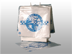 "10 X 8 Seal Top Saddle Pack Deli Bag -- Printed ""Fresh to Go"" One Color 1.25 mil 1,000/cs"
