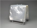 10 1/2 X 8 Seal Top Saddle Pack Deli Bag 1.5 mil 1,000/cs