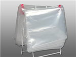 10 1/2 X 8 Slide Seal Deli Bag - Flat Packed 2 mil 1,000/cs
