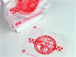 "10 X 8 Polypropylene Slide Seal Deli Bag - Printed ""Fresh to Go"" 0.8 mil 1,000/cs"