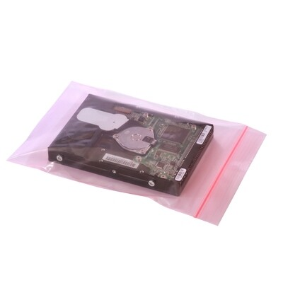 12X15 4 mil   500/CS Reclosable Bag w/ White Block