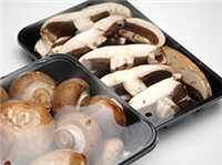 "17"" Vented Mushroom Overwrap Film  17 X 5,000ft/RL"