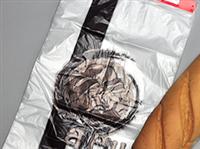 12 X 17 + 2 LP High Density Bakery Bag on Header Pack with Print 0.6 mil 2,000/cs