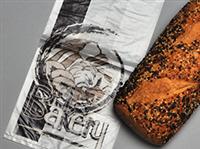 6 X 4 X 12 High Density Bakery Bag with Print 1 mil 1,000/cs