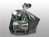 12 X 8 X 30 Low Density Equipment Cover on Roll -- Suction Machine/Nebulizer/IV Pump 1.25 mil /RL