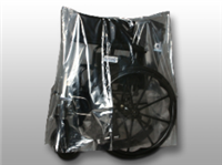 50 X 45 Low Density Equipment Cover on Roll -- Walker/Wheelchair/Commode 1 mil /RL