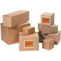 "7 x 7 x 8"" Corrugated Boxes"