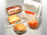 6 1/2 X 7 + 1 3/4 FB Saddle Pack Printed Chicken Bag 0.5 mil 2,000/cs