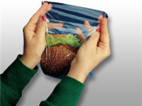 6 3/4 X 6 3/4 + 1 LP + 1 FB High Density Flip Top Sandwich Bag 0.36 mil 2,000/cs