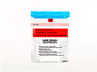 Specimen Bags Lab Seal®Tamper-Evident with Removable Biohazard Symbol and Absorbent Pad