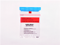 "Lab Seal® Tamper-Evident Specimen Bags with Absorbent Pad and Printed ""Chain of Custody"" 6 X 10 1.8 mil 1,000/cs"