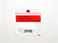 Lab-Loc® Specimen Bags with Removable Biohazard Symbol and Absorbent Pad 8 X 10 1.75 mil 1,000/cs