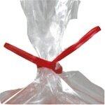 "4"" Red Paper Ties 10,000/cs"