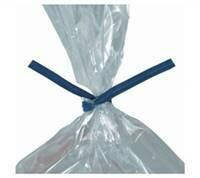 """8"""" Blue Plastic Ties 10,000/cs"""