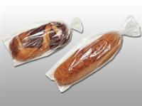 11 X 20 + 1 1/2 LP Polypropylene Micro-Perf Bread Bag 1 mil 1,000/cs