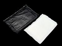 Black/White 50 Gram Soaker Pad  mil 2,000/cs