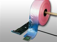 """3 X 1075ft 3"""" Pink Anti-Static Poly Tubing 4 mil /RL"""